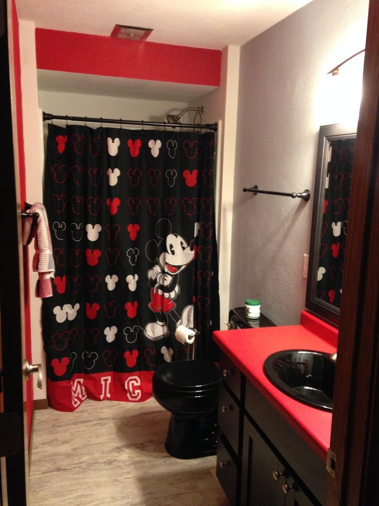 Mickey Mouse Bathroom Remodel