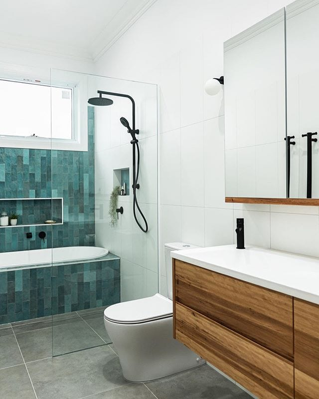 Blue and Gray Tiles
