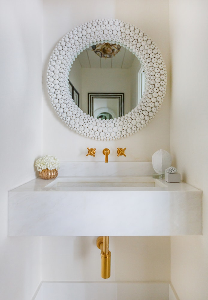 Gold Finishes bathroom