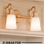 21 Ideas for Champagne Bronze Bathroom Light Fixtures - Pin