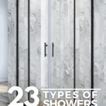 23 Types of Showers for Your Bathroom - Pin