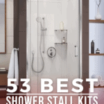 53 Best Shower Stall Kits Including One Piece and Other Types - Pin