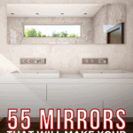 55 Mirrors That Will Make Your Bathroom Look Cool - pin