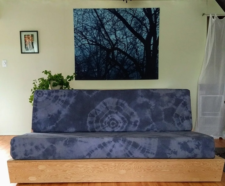 Couch Cushion Covers - Tie Dyed