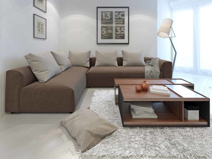 Fusion style in interior of a private house.