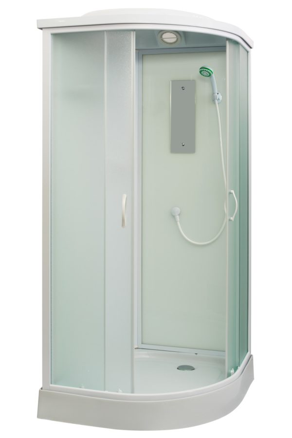 Shower cabin, stall isolated