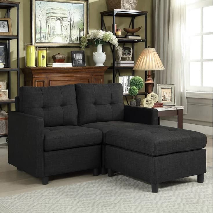 """Wetherby 52"""" Wide Reversible Modular with Ottoman"""