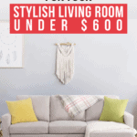 Sectional Sofas for Your Stylish Living Room Under $600 - Pin