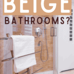 What Towel Color Goes Well with Beige Bathrooms - Pin