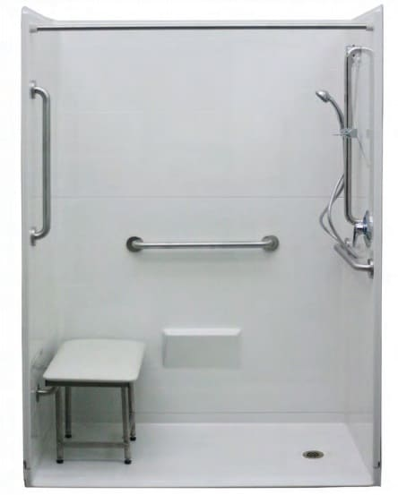 """Freedom Accessible Shower 54"""" x 37"""""""