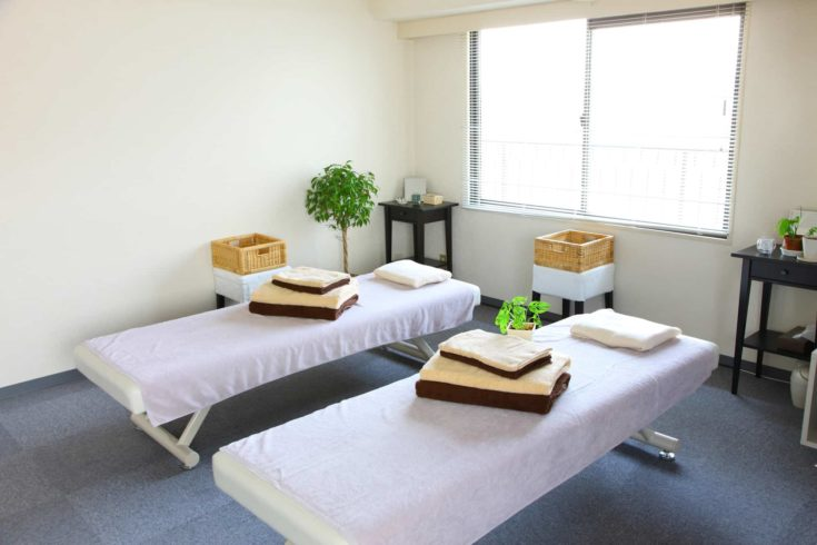 Back to Green massage room