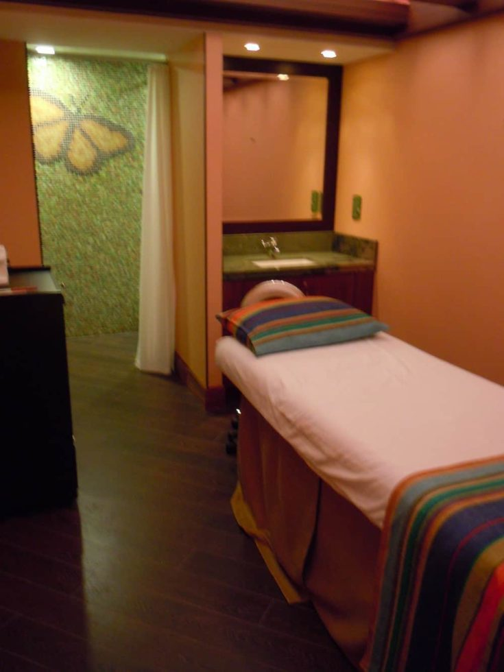 Bubbly Butterfly massage room