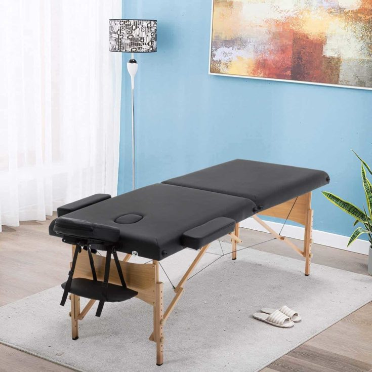 Sentiment 73 Inches Long 28 Inches Wide Folding Portable Massage Table