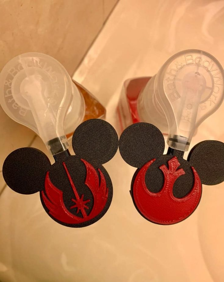 Mouse Shaped Soap Dispenser Attachment for Bath and Body Works Foam Soap Bottles