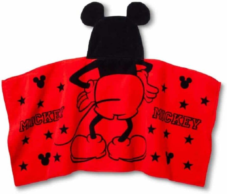Mickey Mouse & Friends Hooded Bath Towel