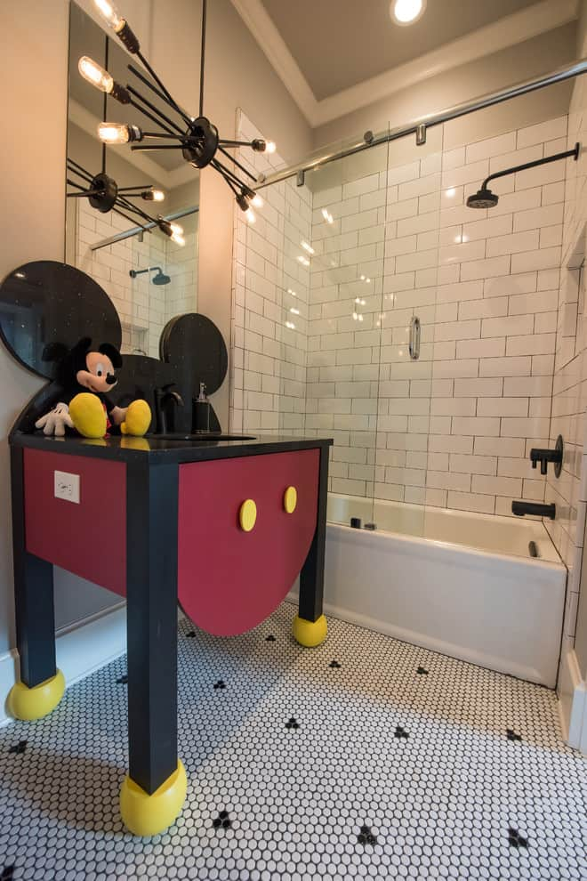 Mickey Mouse inspired Sink